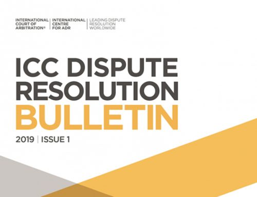ICC Dispute Resolution Bulletin