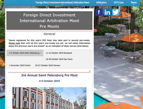 Foreign Direct Investment International Arbitration Pre Moot