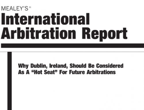 International Arbitration Report