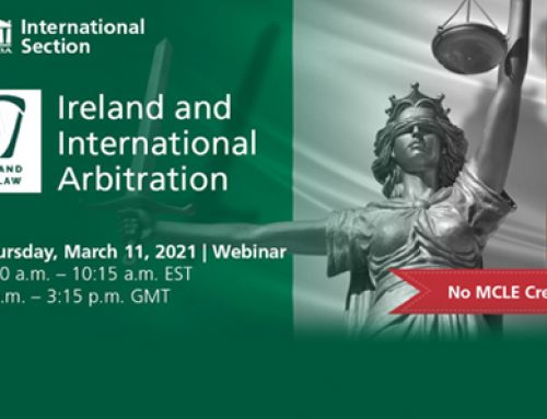 Ireland and International Arbitration