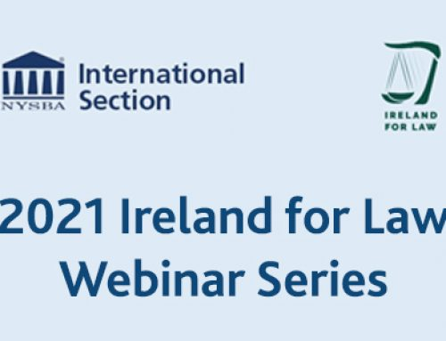 2021 Ireland for Law – Webinar Series