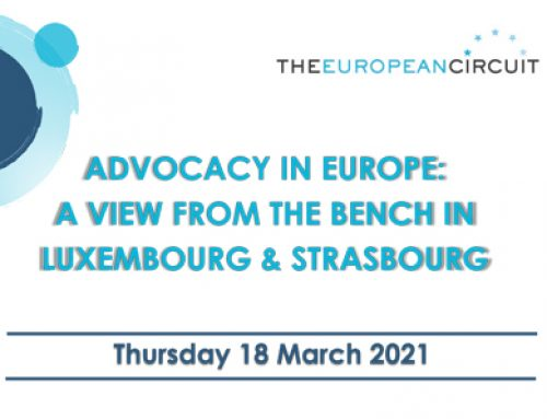 Advocacy in Europe